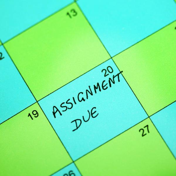Calendar: Assignment Due