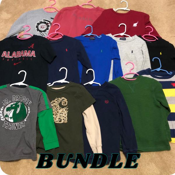 13 Long Sleeve Boys Shirts bought as a bundle