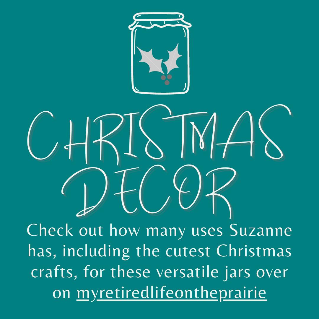 Christmas Decor Oui Jar