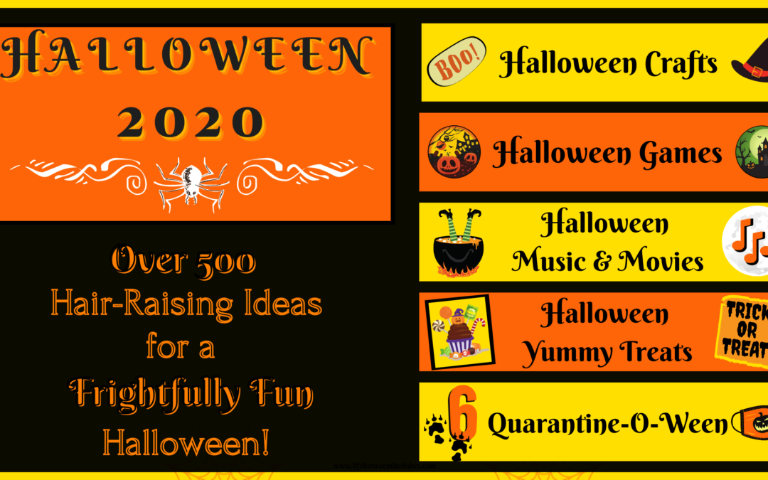 Over 500 Halloween ideas for crafts, snacks, and games