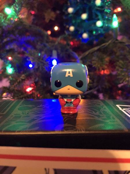 Marvel Funko Pop Advent Calendar Captain America