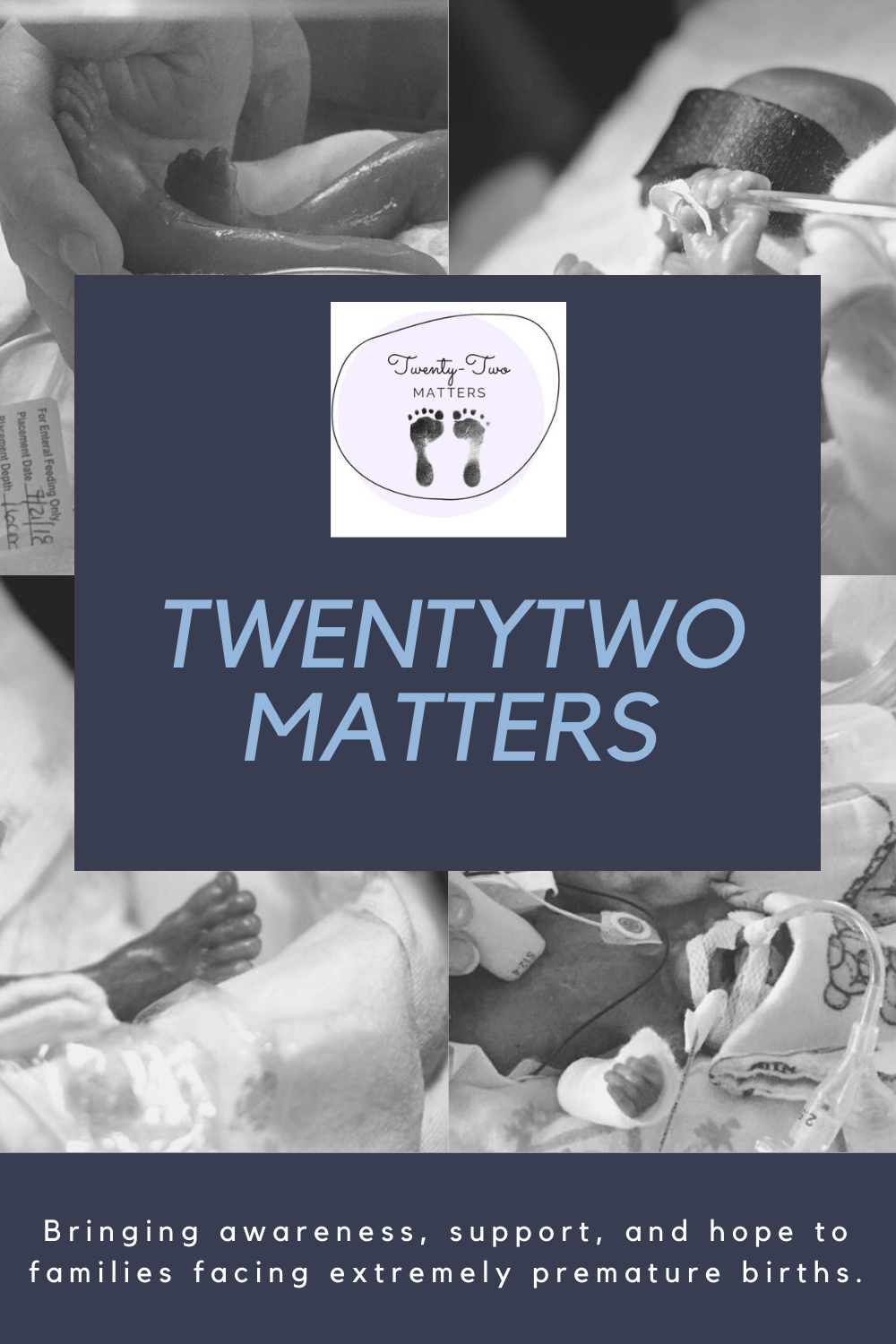 TwentyTwo Matters: Advocating for the extremely premature