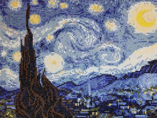 Starry Night Diamond Painting