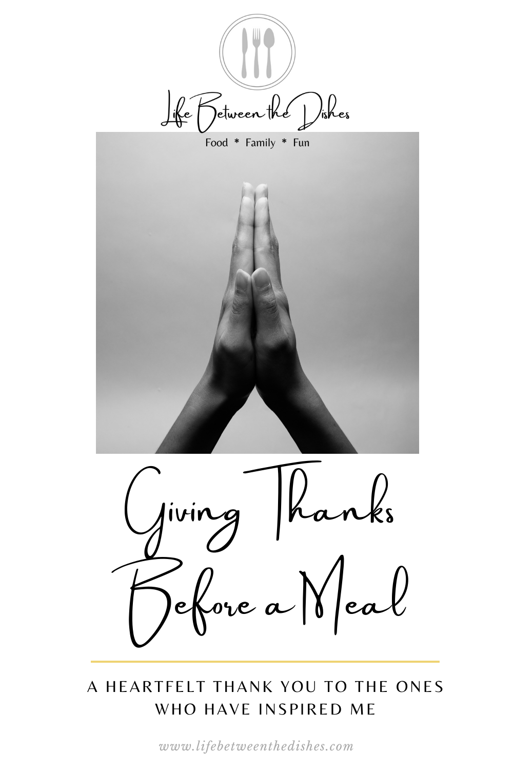 Giving Thanks Before a Meal