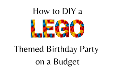 How to DIY a LEGO Themed Birthday Party on a Budget
