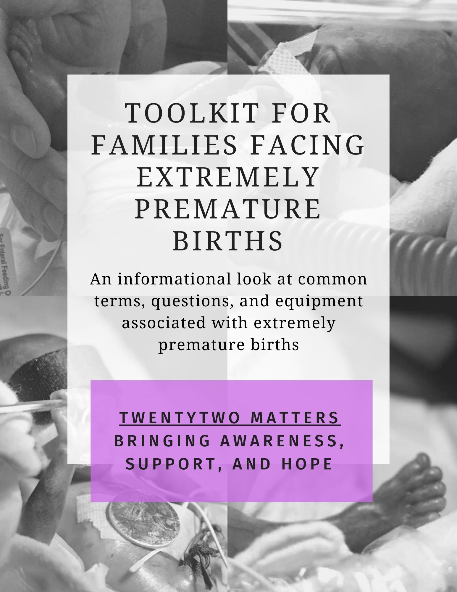Toolkit for Families Facing Extremely Premature Births